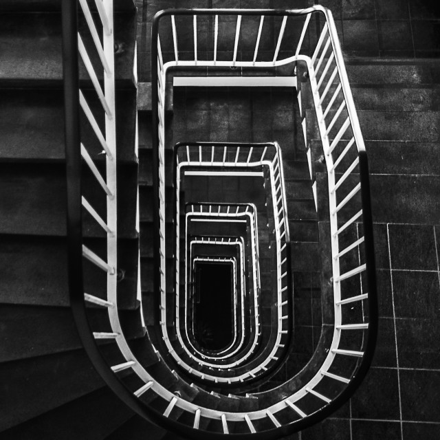 """Stairs"" stock image"