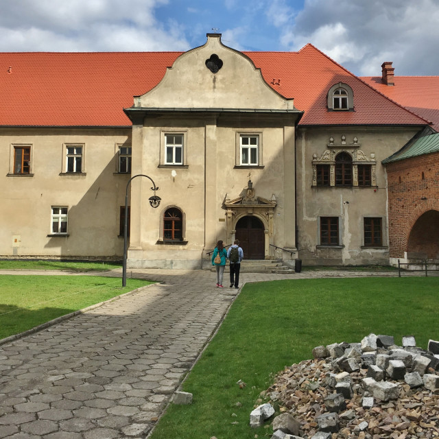 """Corpus Christi Church, Krakow"" stock image"