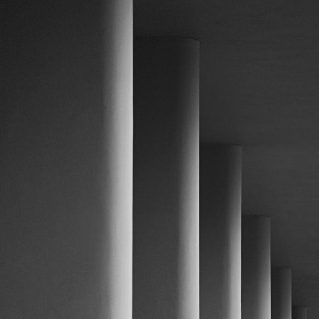 """Columns"" stock image"