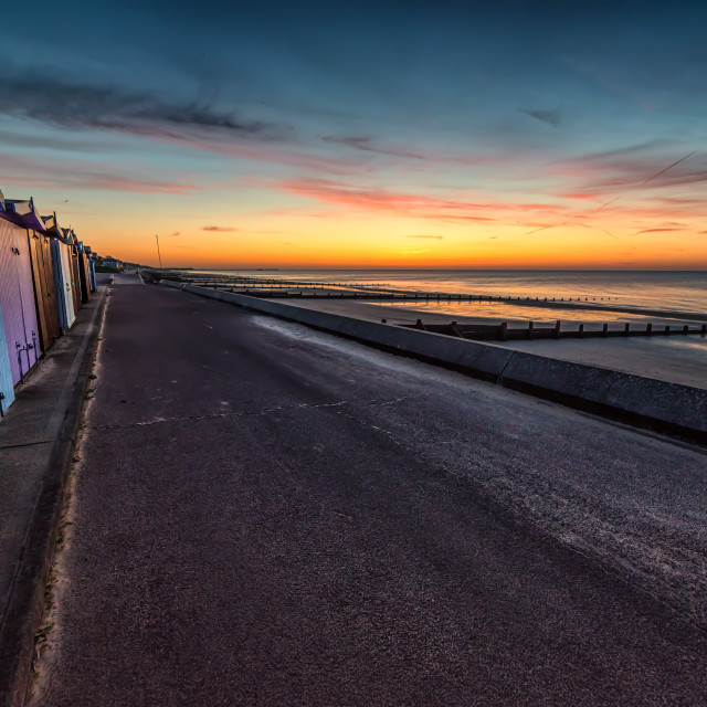 """""""Natures Paint Pot in Frinton"""" stock image"""