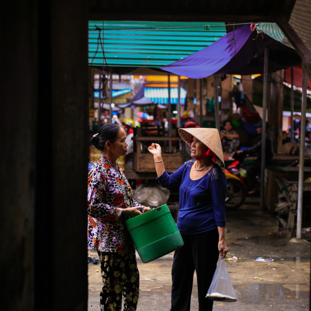 """Vietnam local market"" stock image"