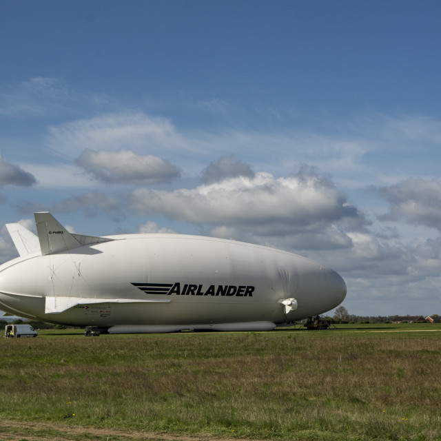 """Airlander 10 at Cardington"" stock image"