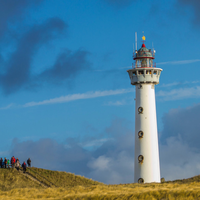 """Lighthouse in Holland"" stock image"