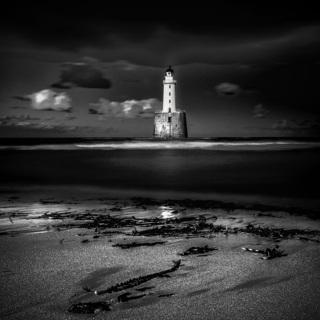 """""""Lighthouse Rattray"""" stock image"""