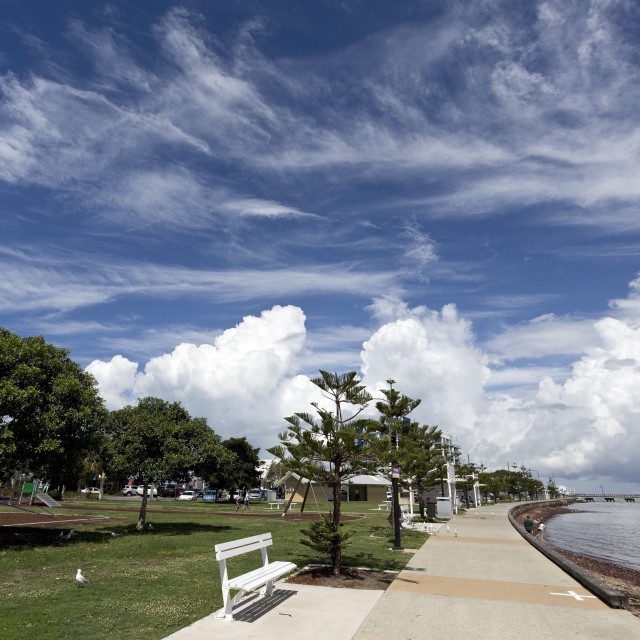 """Woody Point Park"" stock image"