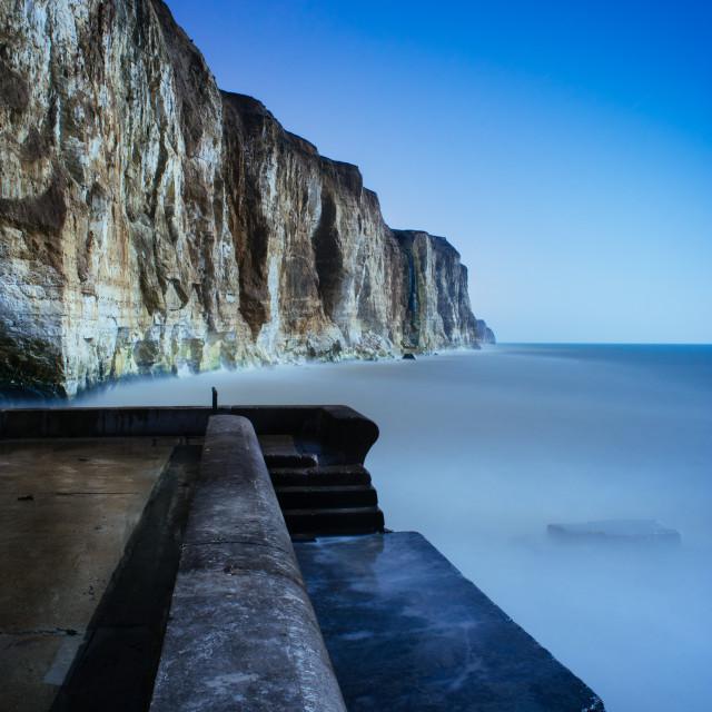 """moonlit seascape"" stock image"