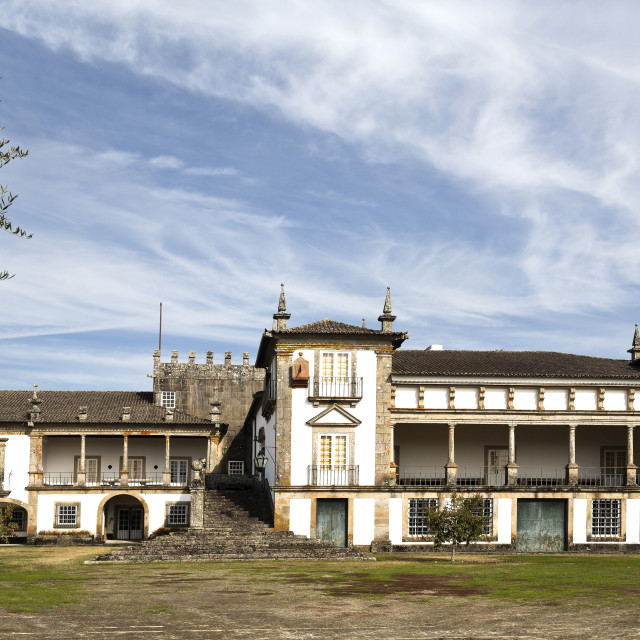 """Solar de Bertiandos"" stock image"