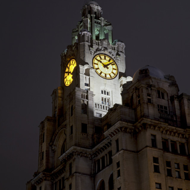 """Liver Building, Liverpool"" stock image"