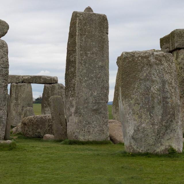 """""""Stonehenge Panorama"""" stock image"""