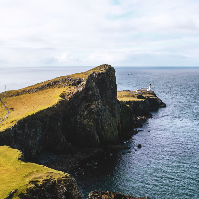 """Neist Point Isle of Skye Scotland"" stock image"