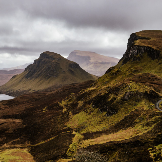 """Quiraing Isle of Skye Scotland"" stock image"