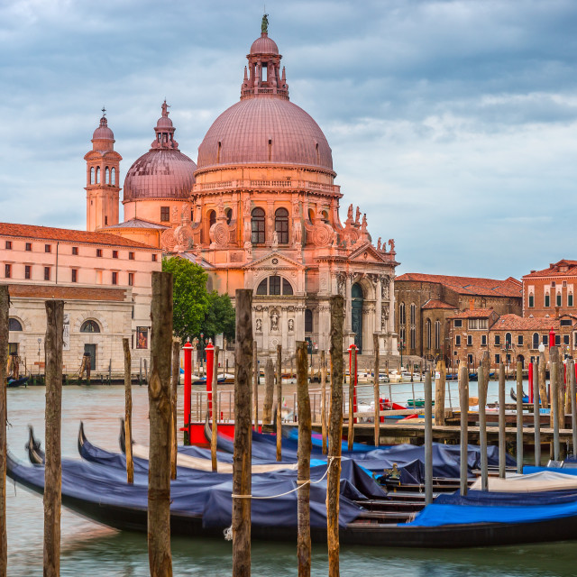 """""""Venice in the morning, city landscape, Italy"""" stock image"""