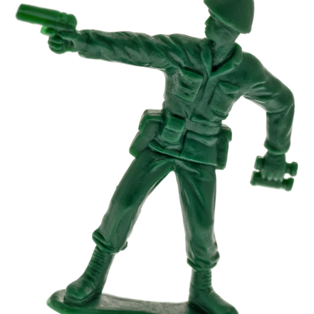 """Toy Soldier"" stock image"