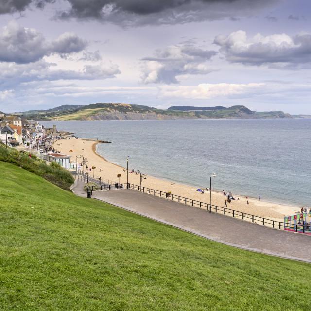 """Sidmouth, Devon, Britain"" stock image"