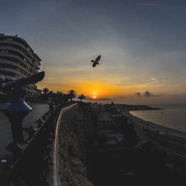 """""""Mediterranian balcony"""" stock image"""