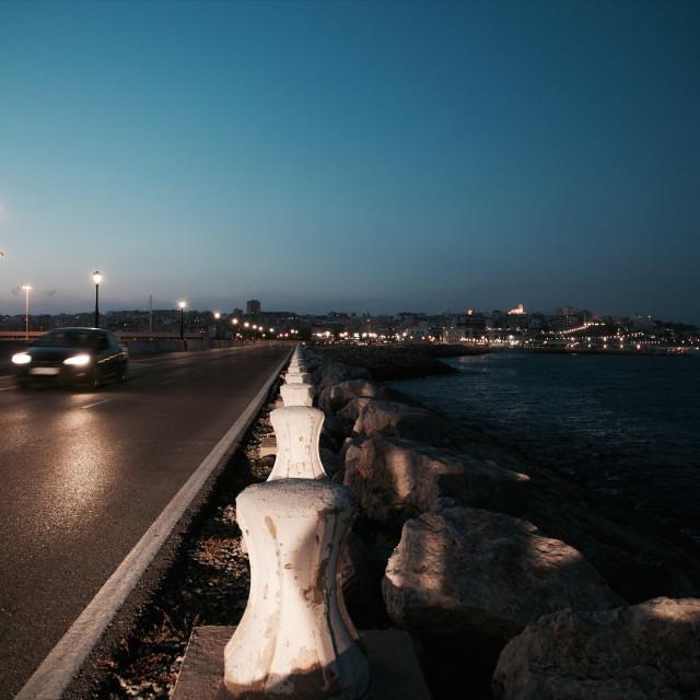 """Tarragona's promenade"" stock image"