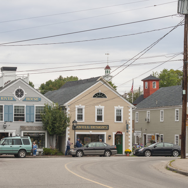 """Kennebunkport, New England"" stock image"