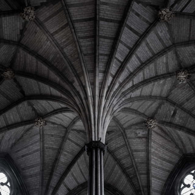 """Westminster Abbey Chapter House"" stock image"