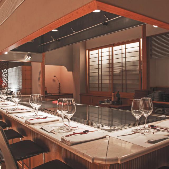 """Japanese kitchen restaurant"" stock image"