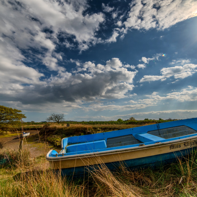 """Beaumont Quay April Sunshine"" stock image"