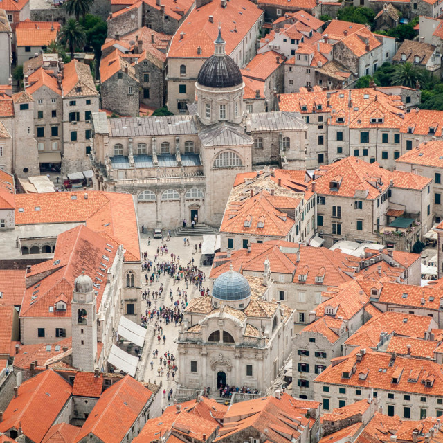 """Dubrovnik Old Town"" stock image"