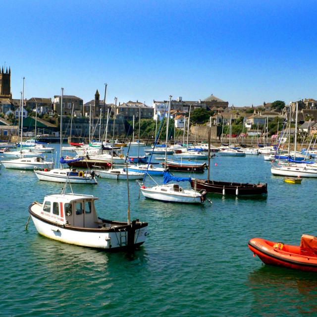 """Penzance, Cornwall, England"" stock image"