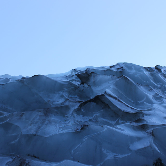 """""""Glacial Ice"""" stock image"""
