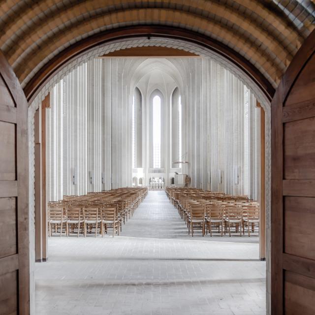 """Grundtvigs Church"" stock image"