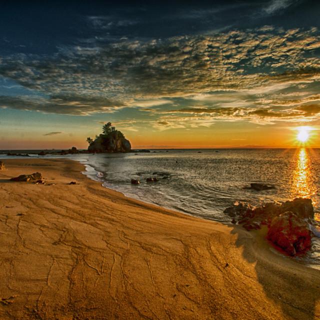 """""""Kemasik Sunrise"""" stock image"""