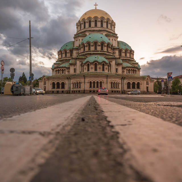 """Alexander Nevsky Cathedral in Sofia, Bulgaria"" stock image"