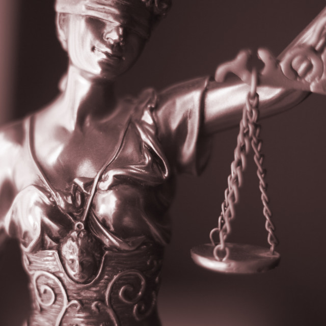 """Law office legal goddess"" stock image"