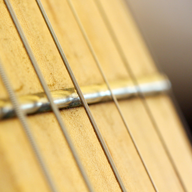 """Electric guitar details"" stock image"
