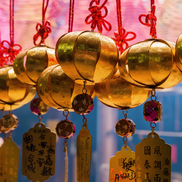 """Tin Hau Temple in Hong Kong"" stock image"