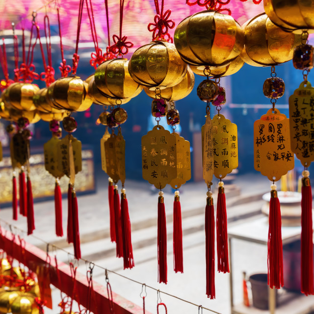 """Tin Hau Temple in Hong Kong"" stock image"