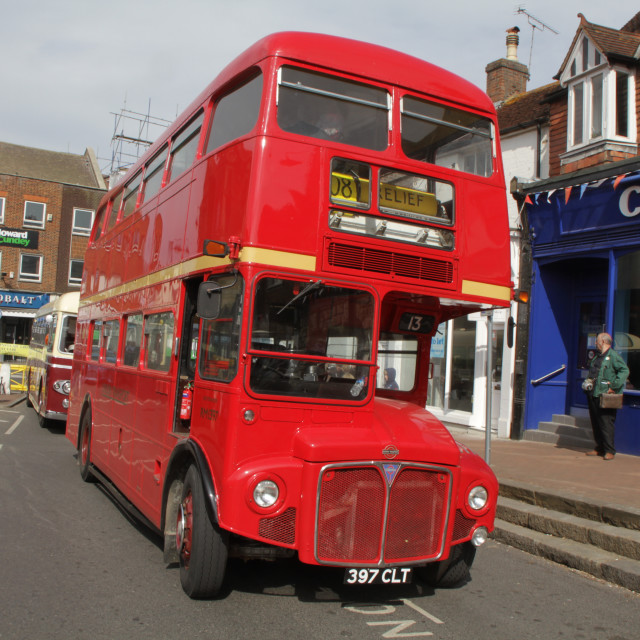 """a routemaster"" stock image"