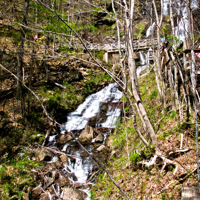 """Amicalola Falls 6"" stock image"