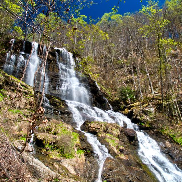 """Amicalola Falls 4"" stock image"