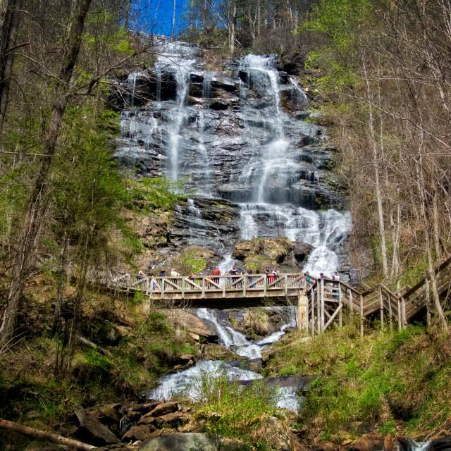 """Amicalola Falls 8"" stock image"