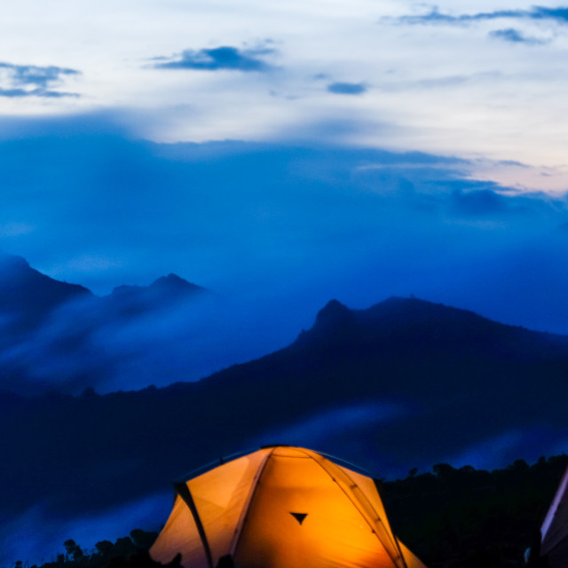 """Camping tent"" stock image"