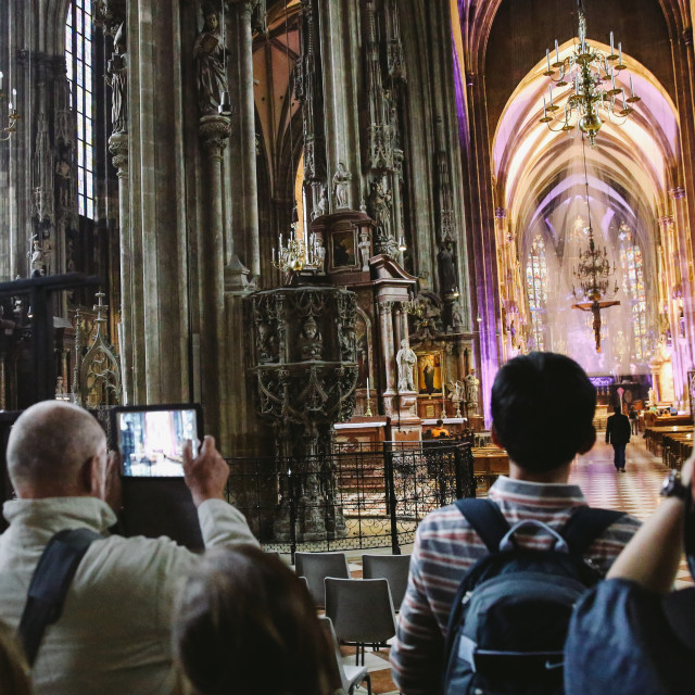 """""""St. stephen's Cathedral"""" stock image"""