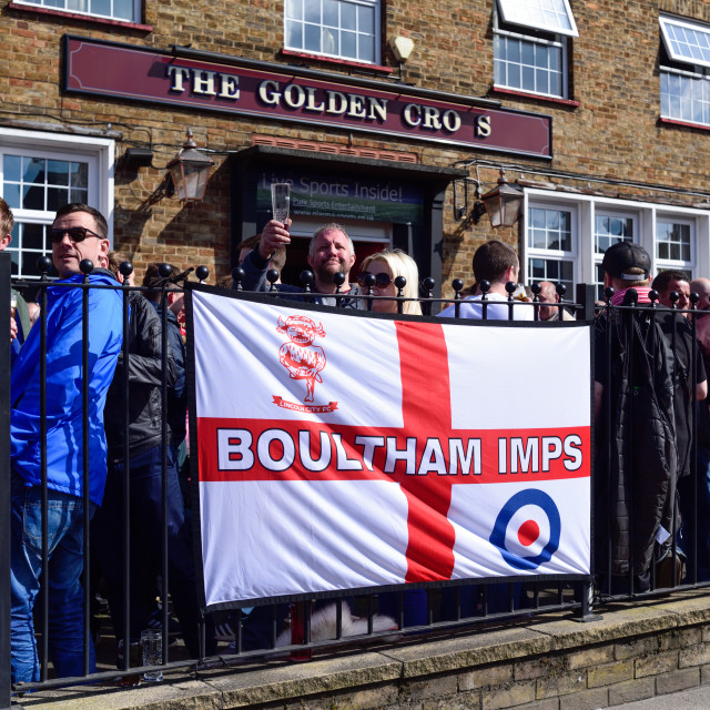 """Imps back into the Football League.UK"" stock image"