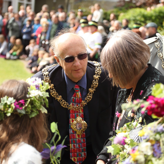 """Mayor of Lewes"" stock image"