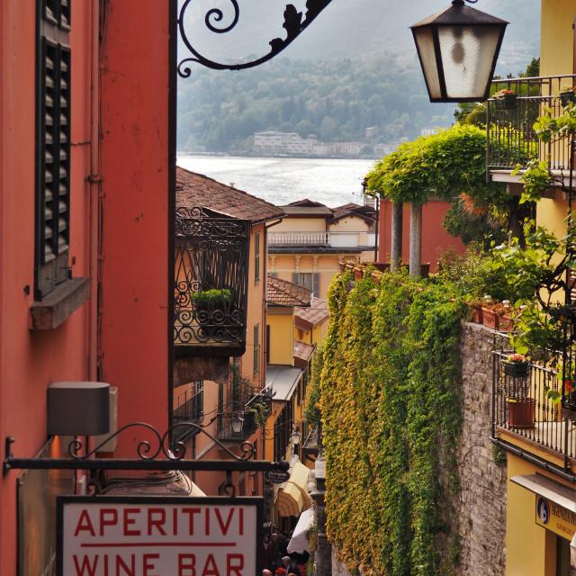 """Italian streets"" stock image"