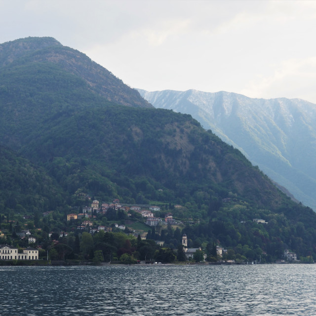 """Lake Como, Italy"" stock image"