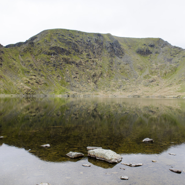 """Helvellyn Reflection"" stock image"