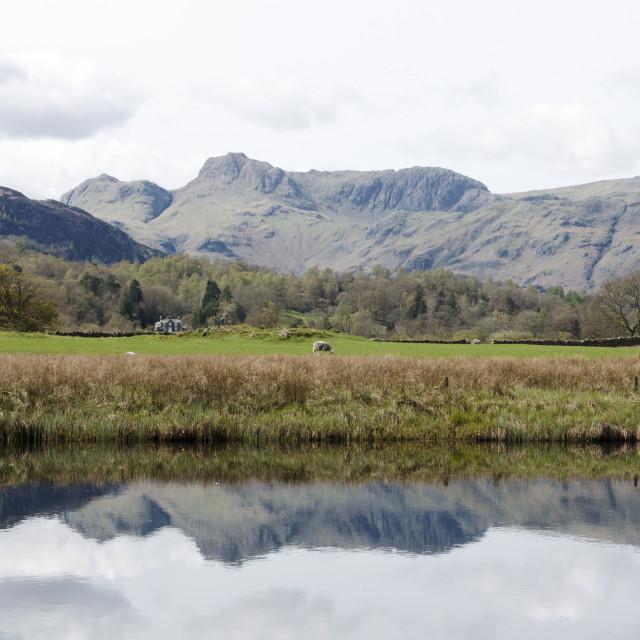 """Lakes Landscape"" stock image"