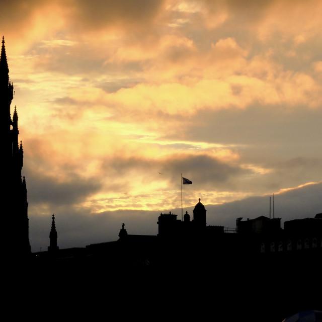 """Edinburg"" stock image"