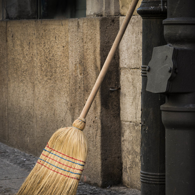 """""""The Witches Broom"""" stock image"""
