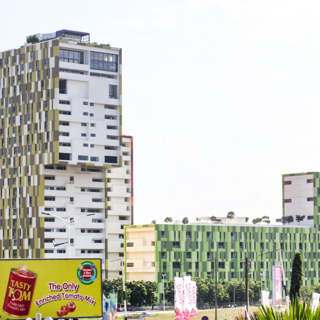 """Beautiful Accra"" stock image"
