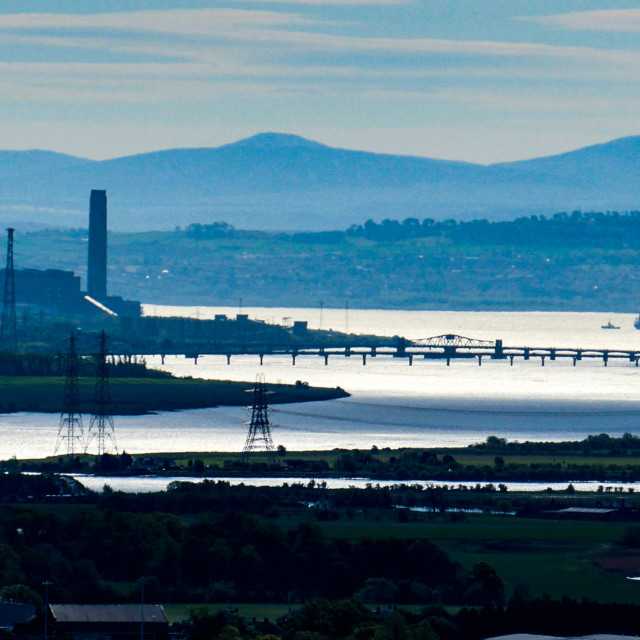 """River Carron, Scotland"" stock image"